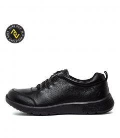 Dassie Black Leather