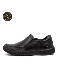 Steel Black Leather