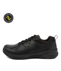 Tempo Snr Black Leather