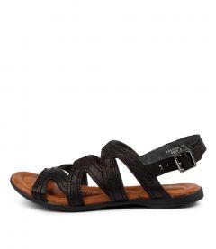 Kalona Black Leather