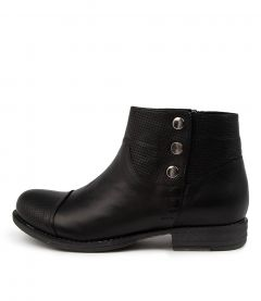 Listern Black Leather