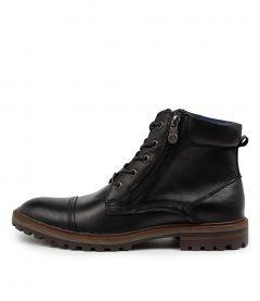 Gasp Black Leather