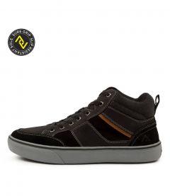 Morwell Black Leather