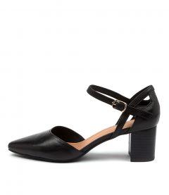 Loctavia Black Leather
