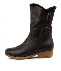 Rudo New Black Black Fur Leather Fur