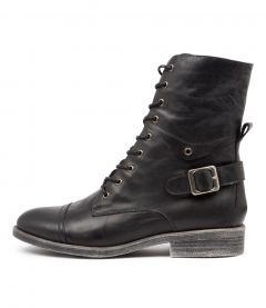 Mekhi Black Leather