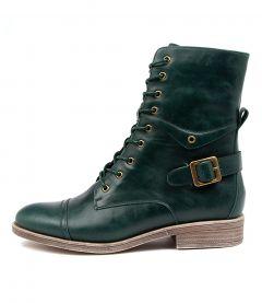 Mekhi Emerald Leather