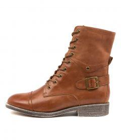Mekhi Cognac Leather