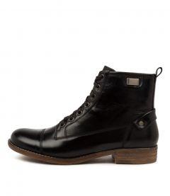 Cyrus Black Leather
