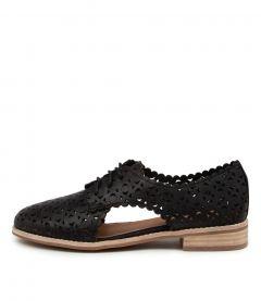 Albertos Black Leather