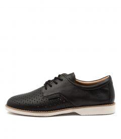 Danae Black Leather