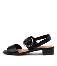 Mackenzie Black Leather