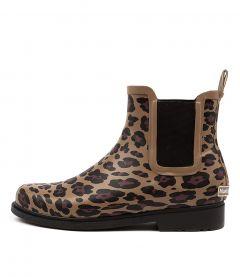 Muddy Leopard Rubber