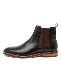 Scuttle Black Leather