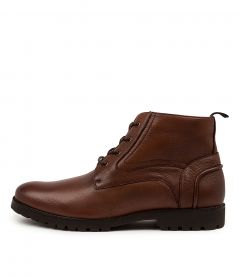 Obliged Redwood Leather