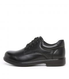 DARCY SNR E BLACK LEATHER