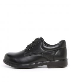 Darcy Jnr E Black Leather