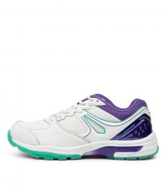 POWER JNR WHITE-PURPLE