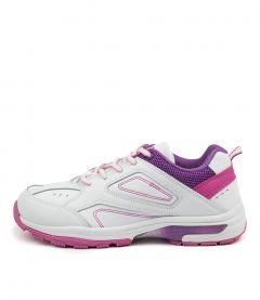 Echo Jnr Wht-purple-pink