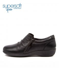 Payton Su Black Leather