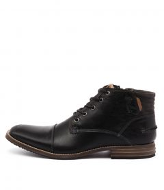 Chambers Black Leather