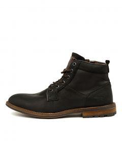 Tyler Wr Black Leather