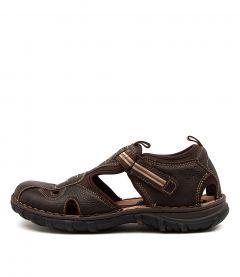Pitt Wr Dark Brown Leather