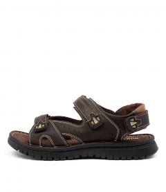 Paz Dark Brown Leather