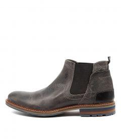 Watson Dark Grey Leather