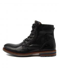 Woodland Black Leather