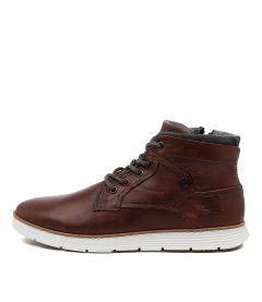 Napier Rust Leather