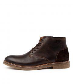 Titan Dk Brown Leather