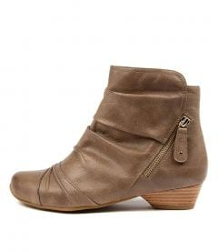 Camryn Xw Taupe Leather
