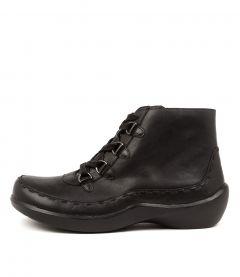 Alexia W Black Leather