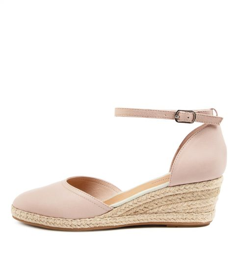 Bereds Champagne Nude Leather by Django & Juliette