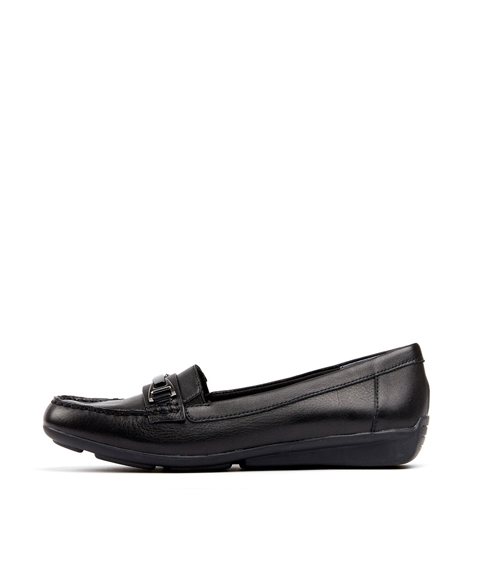 6878f3ee23b3 LOCKNEY BLACK LEATHER by SUPERSOFT - at Mathers