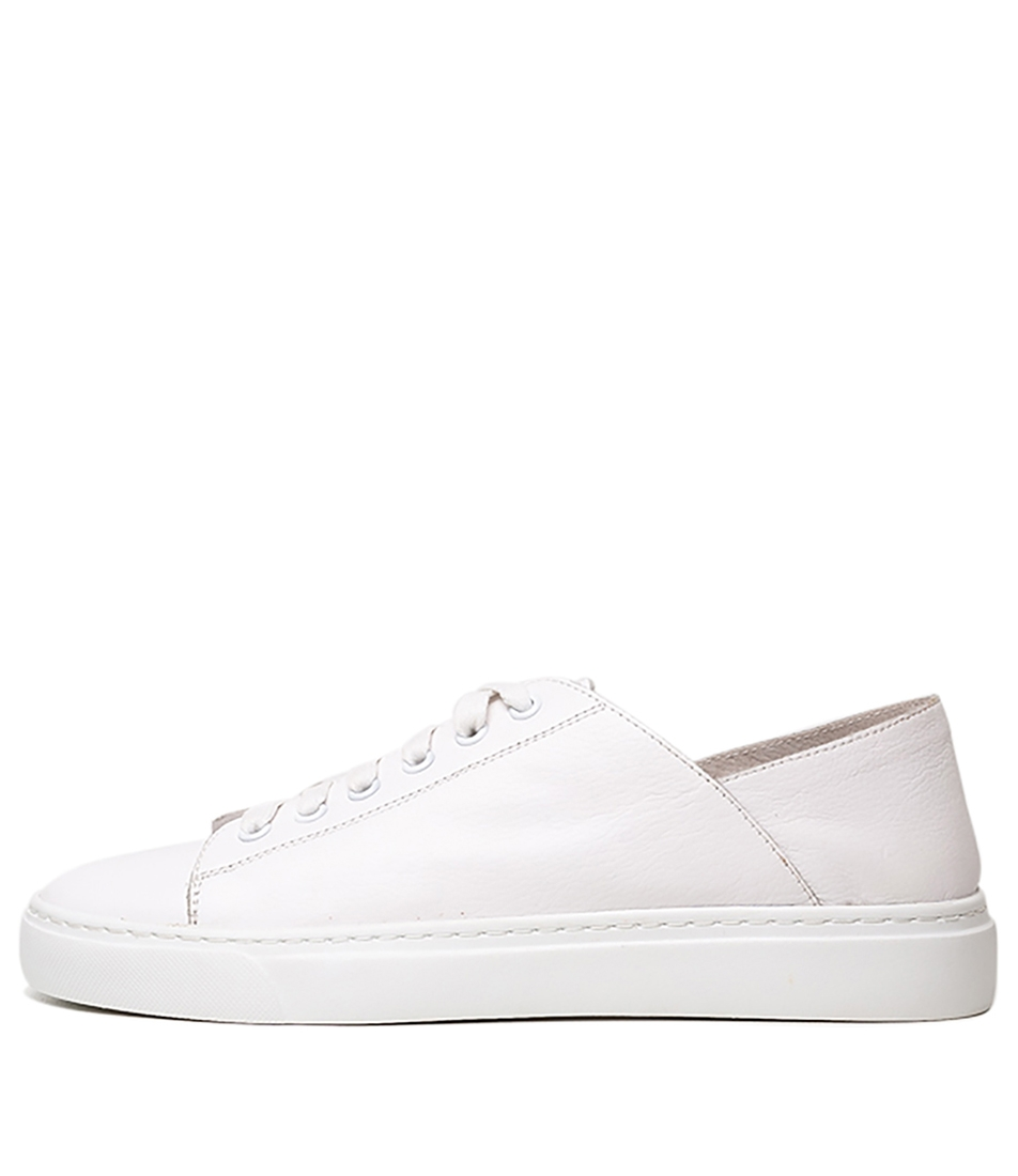 f5e769d97e96 OSKIE WHITE LEATHER by ISABELLA ROSSI - at Mathers