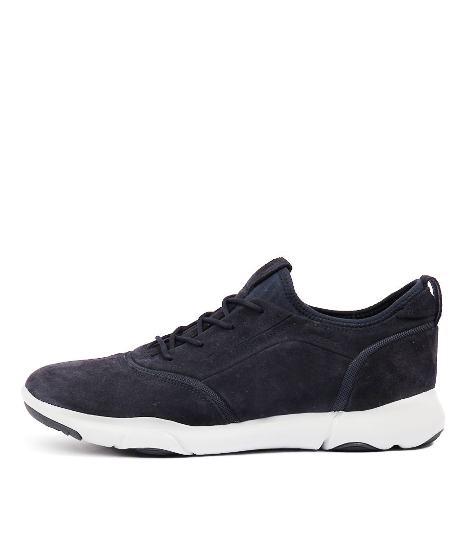 NEBULA S D NAVY SUEDE by GEOX - at Mathers 4db126fce0a