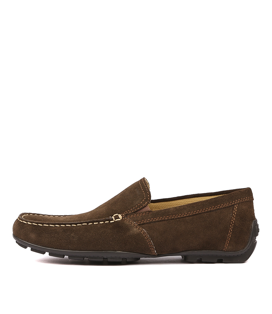 9f18140ef3d61 U MONER V COFFEE SUEDE by GEOX - at Mathers