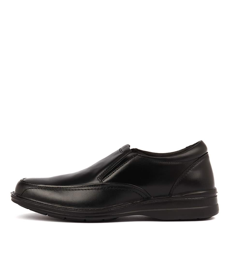 f456d23205ee TRANSIT BLACK LEATHER by HUSH PUPPIES - at Mathers