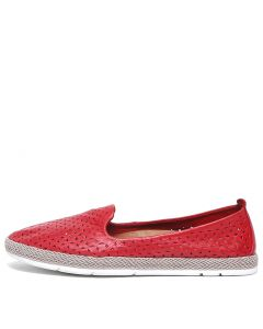 PEPPA RED LEATHER