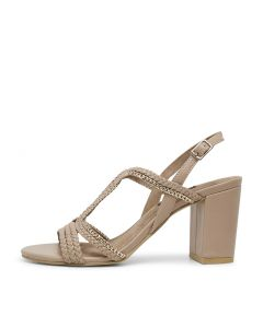 MARLISS NUDE LEATHER