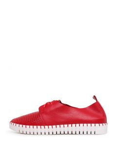 HUSTY RED LEATHER
