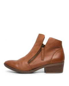 ZALEN DARK TAN LEATHER
