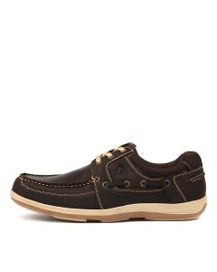 SPINNAKER BROWN LEATHER