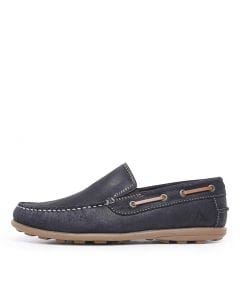 C-ROCANA NAVY-GUM LEATHER