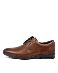 C PAUL DARK TAN LEATHER