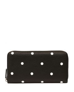 KADENCE2 WALLET BLACK DOTS SMOOTH