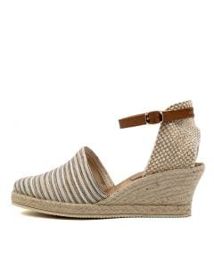 TREY DF BEIGE STRIPE MULTI