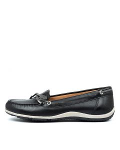 D VEGA MOC B BLACK GREY LEATHER